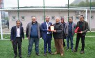 Çanakçı İlçe Stadında İlk Maç Oynandı